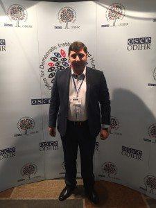 A photo of Armen Grigoryan