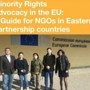 Cover of the Minority Rights Advocacy in the EU